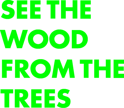 See The Wood From The Trees